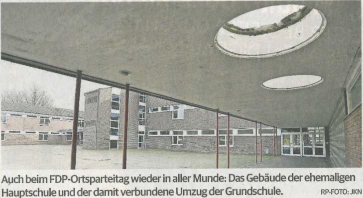 Ortsparteitag der FDP Niederkrüchten
