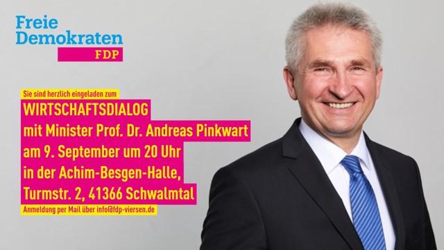 Wirtschaftsdialog mit Minister Prof.Dr. Andreas Pinkwart